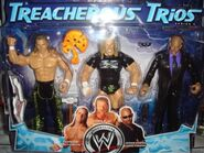WWE Treacherous Trios 5 Triple H, Shawn Michaels, & Jonathan Coachman
