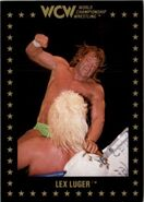 1991 WCW Collectible Trading Cards (Championship Marketing) Lex Luger 75