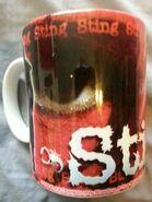 1998 Sting Wrestling Mug