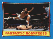 1987 WWF Wrestling Cards (Topps) Fantastic Bodypress 60