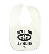 Mark Henry Bent On Destruction white bib