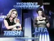 Trish vs lita