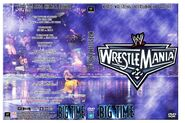 WWF Wrestlemania XXII - Cover