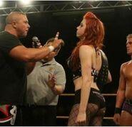Randy Royal - at OVW show