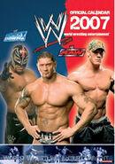 World Wrestling Calendar 2007 official calendar by Danilo