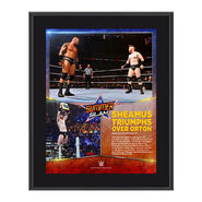 Sheamus SummerSlam 2015 10.5 x 13 Photo Collage Plaque