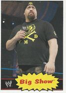 2012 WWE Heritage Trading Cards Big Show 6