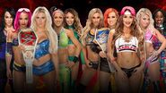 SS 2016 5-on-5 Survivor Series Women's Elimination Match