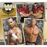 WWE Legends 2014 Wall Calendar