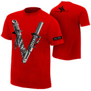 Shinsuke Nakamura The Vibe Authentic T-Shirt