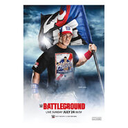 WWE Battleground 2016 Poster