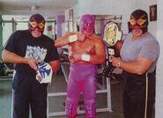Villano III CMLL World Light Heavyweight