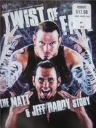 WWF DVD Twist of Fate The Matt and Jeff Hardy Story