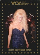 1991 WCW Collectible Trading Cards (Championship Marketing) Missy Hyatt 99