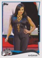 2014 WWE (Topps) Aksana 54