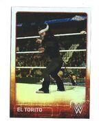 2015 Chrome WWE Wrestling Cards (Topps) El Torito 71