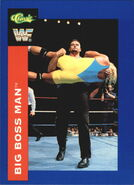 1991 WWF Classic Superstars Cards Big Boss Man 109