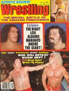 Sports Review Wrestling - January 1980