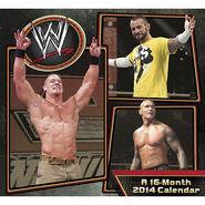 WWE 2014 Wall Calendar
