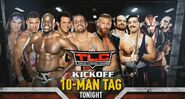 TLC 2016 10 Man Tag Match