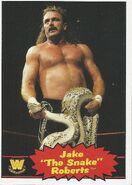 2012 WWE Heritage Trading Cards Jake Roberts 83