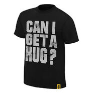 Bayley Can I Get A Hug Authentic T-Shirt
