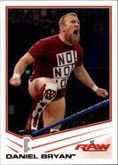 2013 WWE (Topps) Daniel Bryan 9