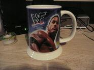 2001-2002 WWF Danbury Mint Mugs The Rock