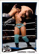 2014 WWE (Topps) Darren Young 65