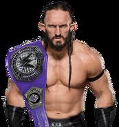 Neville wwe cruiserweight champion by nibble t-dawukml