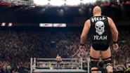 Stone Cold - ringside (WWE 2K16)