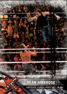 2017 WWE Road to WrestleMania Trading Cards (Topps) Dean Ambrose 86