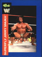 1991 WWF Classic Superstars Cards Superfly Jimmy Snuka 95