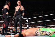 Undertaker and Kane Raw 1000