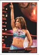 2009 WWE (Topps) Mickie James 22