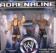 WWE Adrenaline Series 23 Sylvester Terkey & Elijah Burke