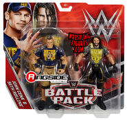WWE Battle Packs 43.5 Seth Rollins & John Cena