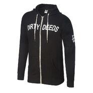 Dean Ambrose Dirty Deeds Unisex Lightweight Full-Zip Hoodie Sweatshirt