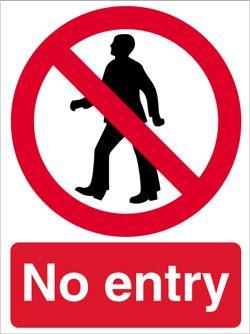 File:No entry.jpg