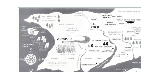 Complete Prydain map