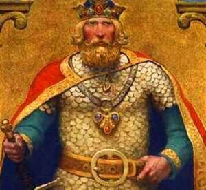 Welsh king