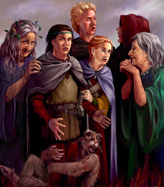 Prydain-witches