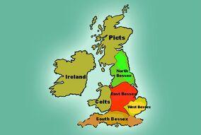 Anglo-saxon map kingsandlaw