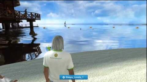 PlayStation Home (Asia) Seaside of Memories Space