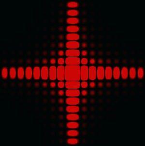 Square diffraction