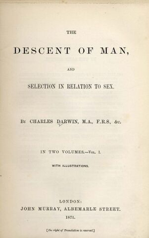 File:Darwin - Descent of Man (1871).jpg