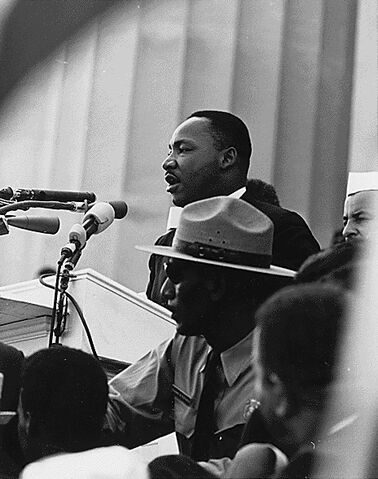 File:Martin Luther King - March on Washington.jpg