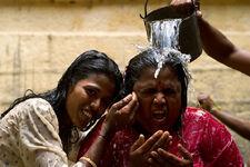 Hindu water ritual