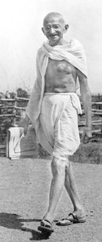 File:Mohandas Gandhi resized for biography.jpg