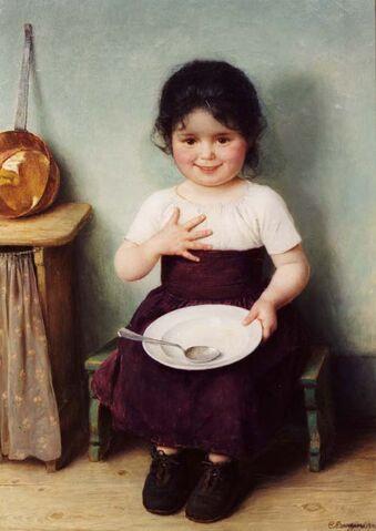 File:Carl von Bergen Mädchen mit Teller.jpg